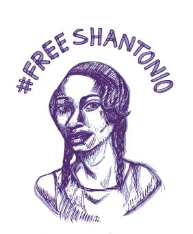 #Free Shantonio Sketched Portrait of Shantonio Hunter